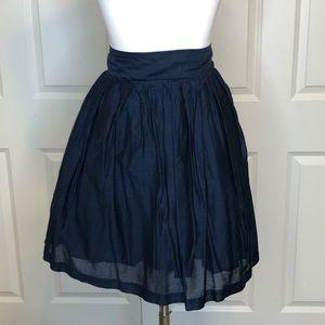 Nordstrom Frenchi Blue Skirt XL A-line Stretch